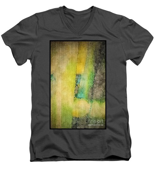 Men's V-Neck T-Shirt featuring the photograph Mirror by William Wyckoff