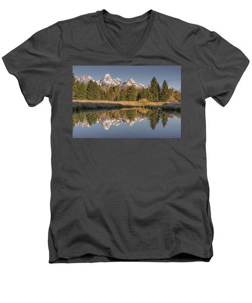 Mirrororrim Men's V-Neck T-Shirt