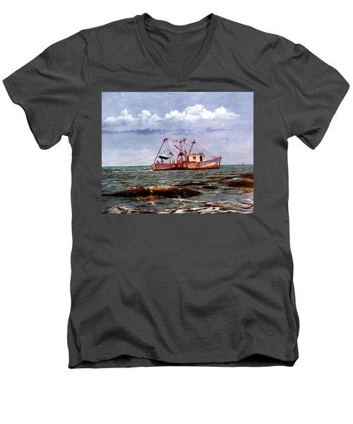 Miss Christy Men's V-Neck T-Shirt