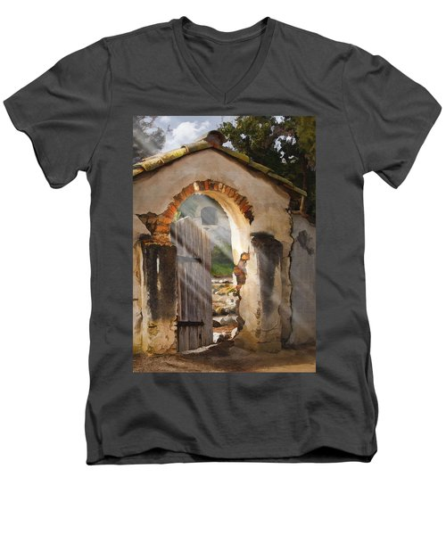 Mission Gate Men's V-Neck T-Shirt