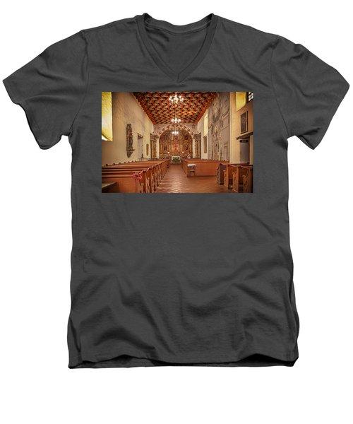 Mission San Francisco De Asis Interior Men's V-Neck T-Shirt