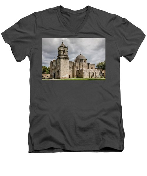 Mission San Jose - 1352 Men's V-Neck T-Shirt