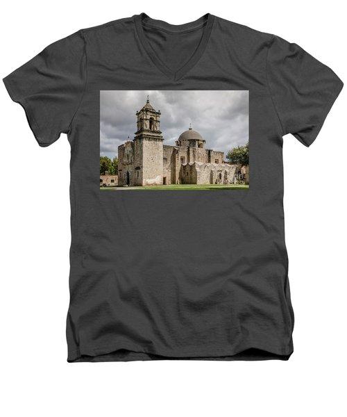 Mission San Jose - 1352 Men's V-Neck T-Shirt