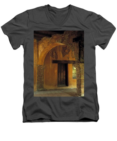 Mission San Juan Capistrano Men's V-Neck T-Shirt