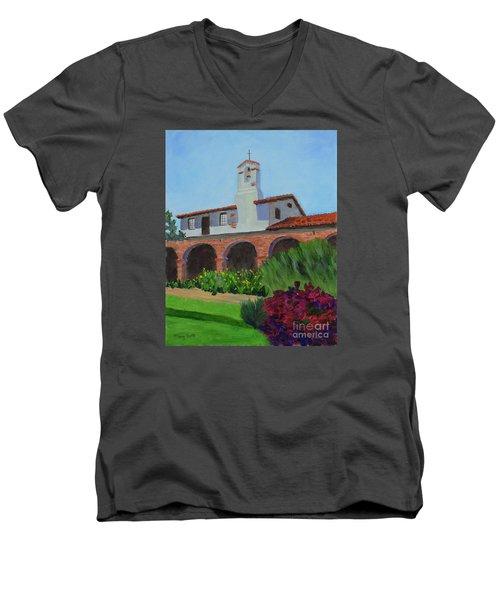 Mission San Juan Capistrano Men's V-Neck T-Shirt