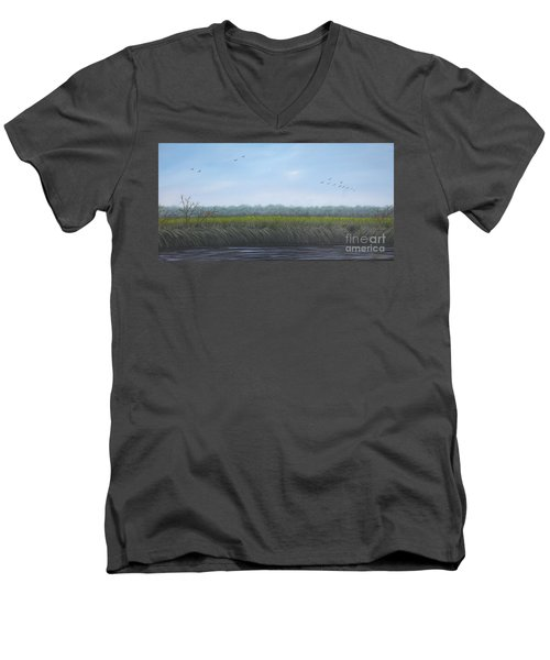 Missiquoi Refuge Men's V-Neck T-Shirt
