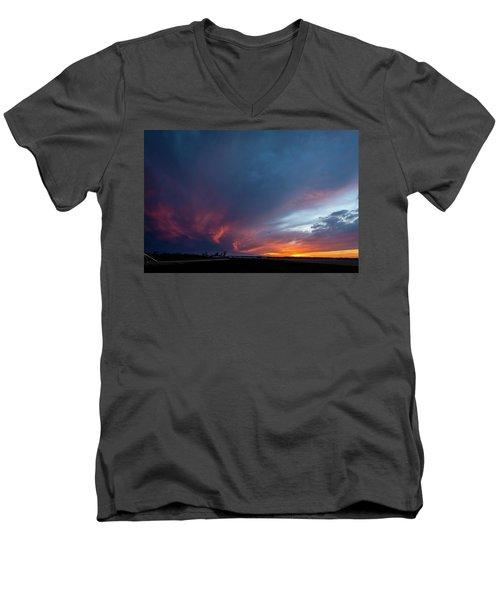 Missouri Sunset Men's V-Neck T-Shirt