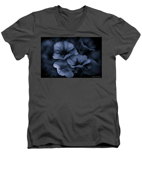 Men's V-Neck T-Shirt featuring the photograph Misterious by Michaela Preston