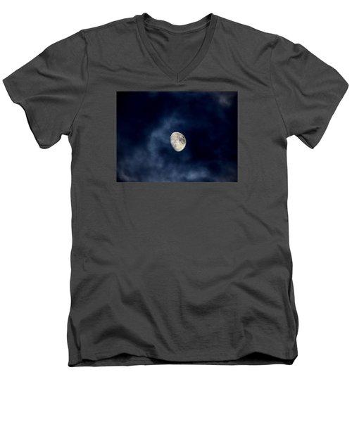 Blue Vapor Men's V-Neck T-Shirt