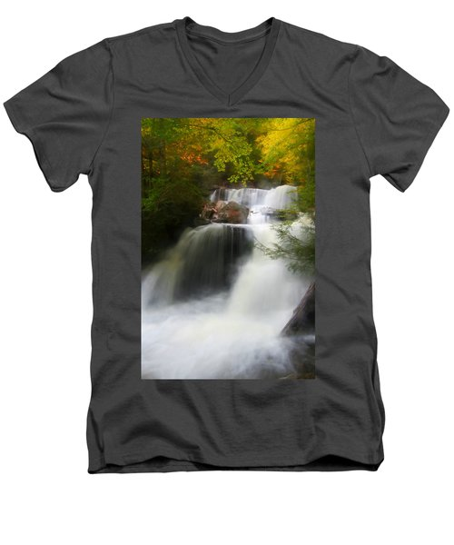 Misty Fall Men's V-Neck T-Shirt