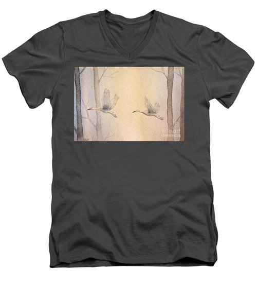 Misty Flight Men's V-Neck T-Shirt