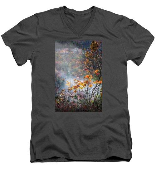 Misty Maple Men's V-Neck T-Shirt
