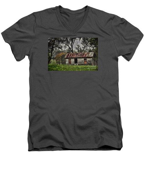 Misty Memories Men's V-Neck T-Shirt