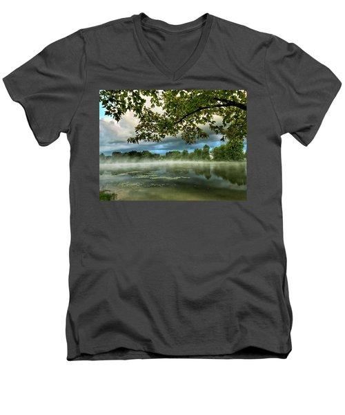 Misty Morn Men's V-Neck T-Shirt
