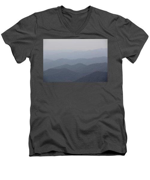 Misty Mountains Men's V-Neck T-Shirt