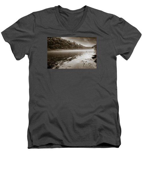 Misty River Men's V-Neck T-Shirt