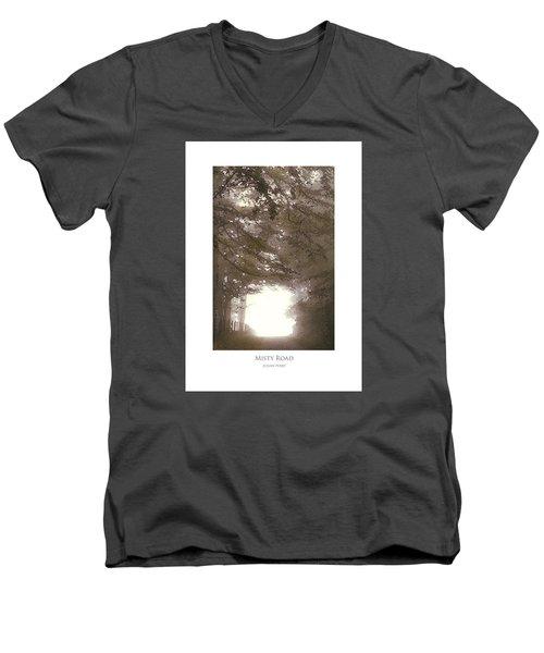 Misty Road Men's V-Neck T-Shirt