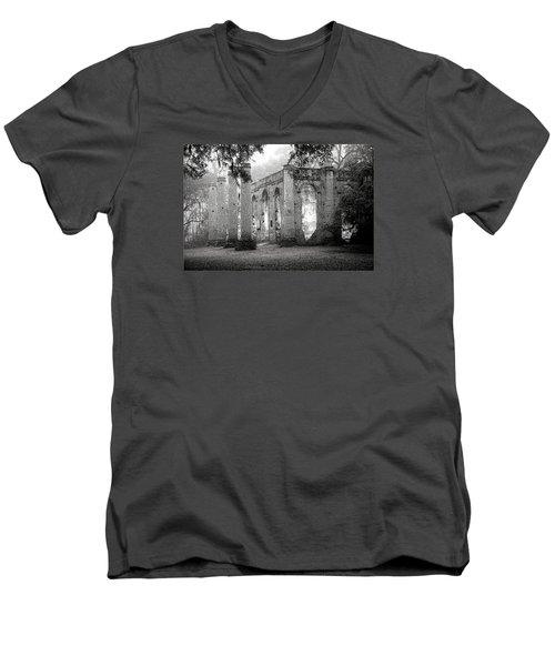 Misty Ruins Men's V-Neck T-Shirt