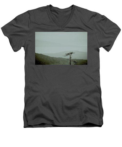 Misty View Men's V-Neck T-Shirt