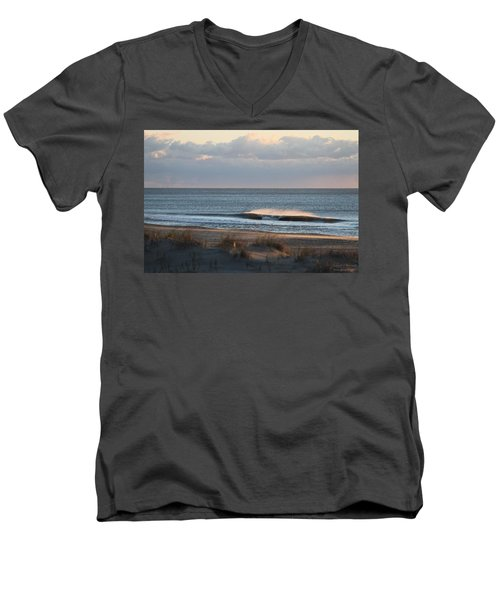 Misty Waves Men's V-Neck T-Shirt