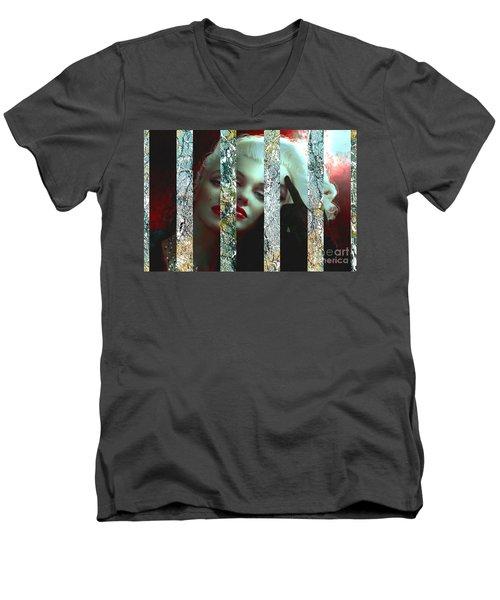Mm 128 Sis 3 Men's V-Neck T-Shirt