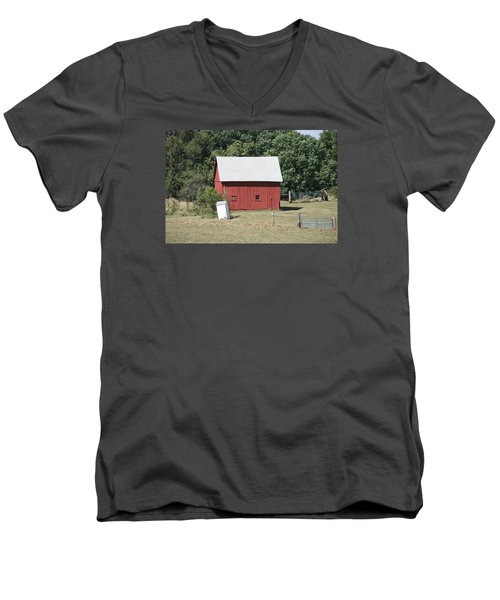 Moberly Farm Men's V-Neck T-Shirt
