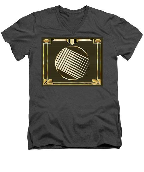 Mocha 1 - Frame 1 Men's V-Neck T-Shirt