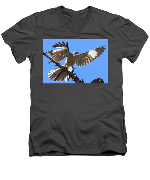 Mockingbird Sees Me I Men's V-Neck T-Shirt