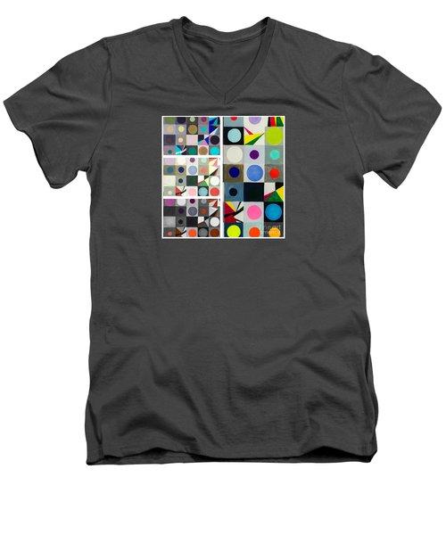 Mod Party Men's V-Neck T-Shirt