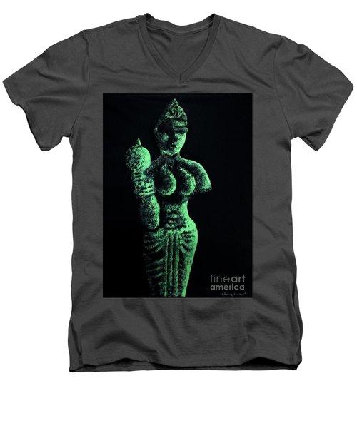 Model-1 Men's V-Neck T-Shirt