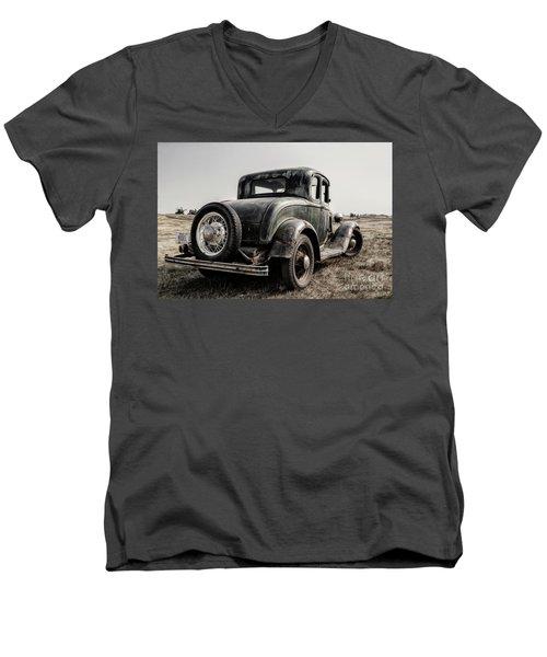 Model A Men's V-Neck T-Shirt