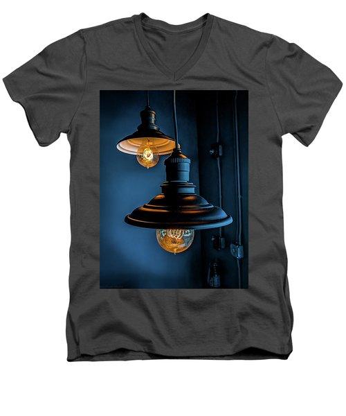 Modern Lighting Men's V-Neck T-Shirt