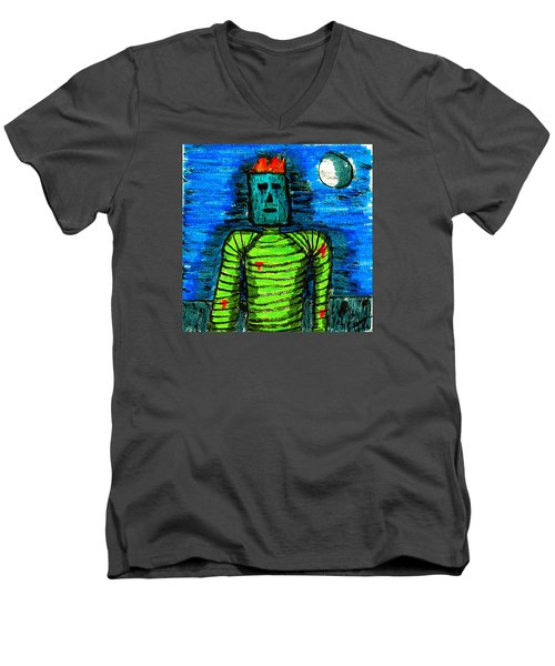 Modern Prometheus Men's V-Neck T-Shirt