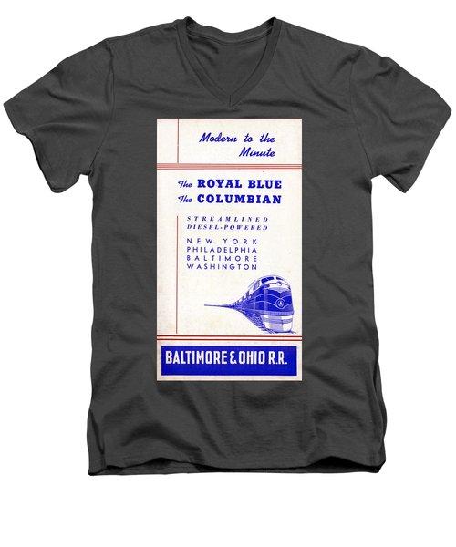 Modern To The Minute Men's V-Neck T-Shirt