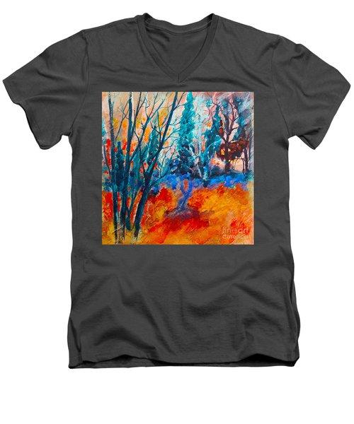 Modern Woods Men's V-Neck T-Shirt