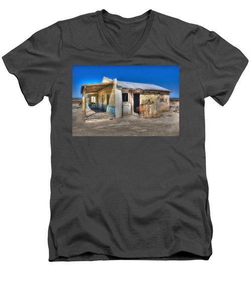 Mojave Times Men's V-Neck T-Shirt by Richard J Cassato