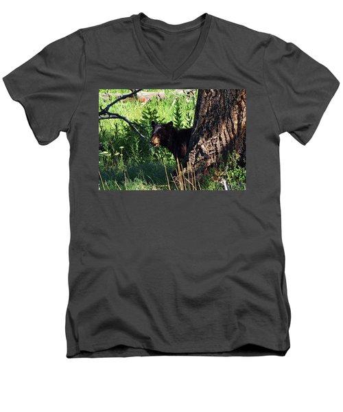 Mom, Where Are You Men's V-Neck T-Shirt
