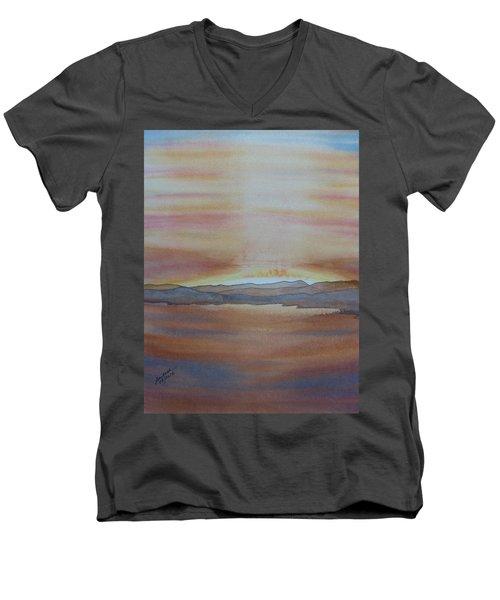 Moment By The Lake Men's V-Neck T-Shirt