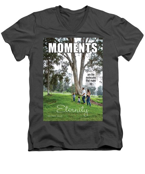 Moments Men's V-Neck T-Shirt