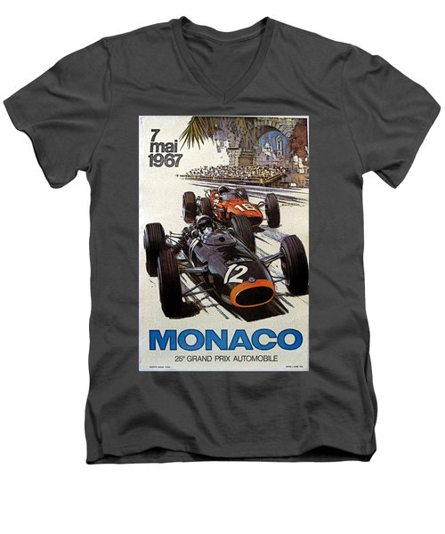 Monaco 67 Men's V-Neck T-Shirt