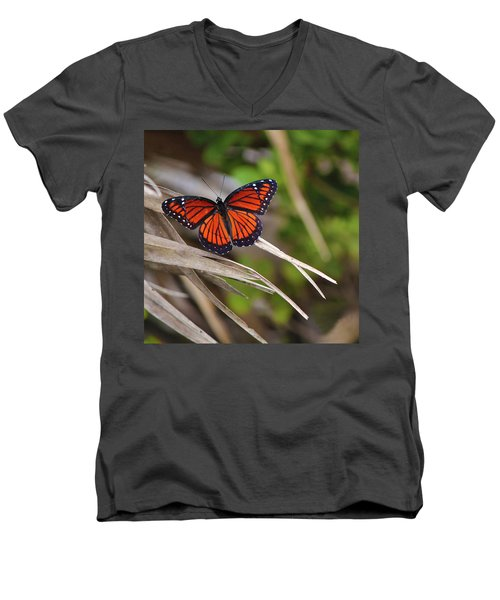 The Monarch  Men's V-Neck T-Shirt