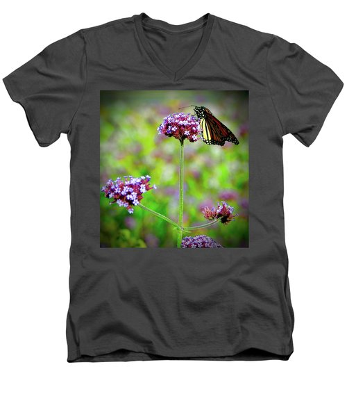 Monarch Men's V-Neck T-Shirt