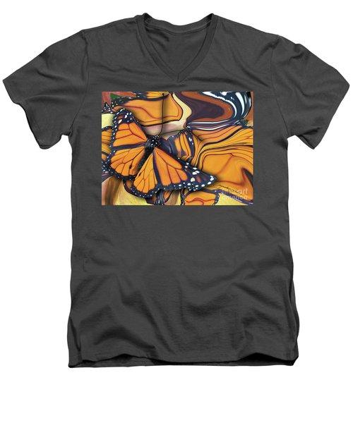 Monarch Flight Men's V-Neck T-Shirt