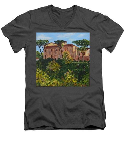 Monastero Men's V-Neck T-Shirt