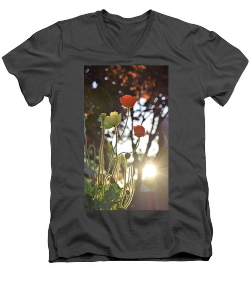 Monday Morning Sunrise Men's V-Neck T-Shirt