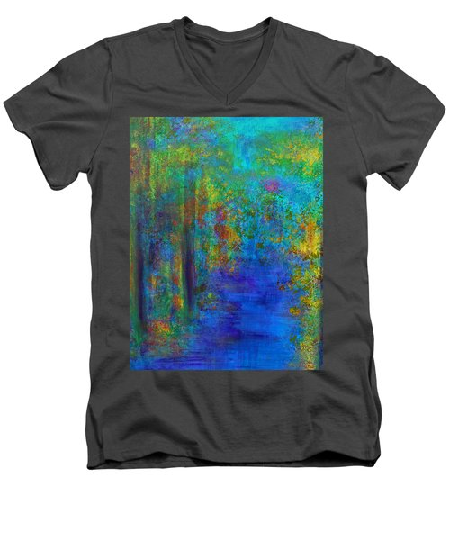 Monet Woods Men's V-Neck T-Shirt