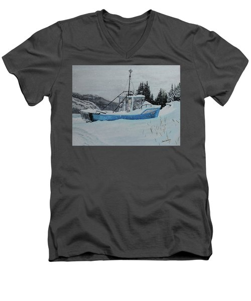 Monica V Men's V-Neck T-Shirt