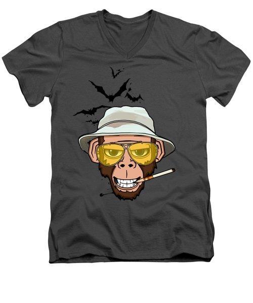 Monkey Business In Las Vegas Men's V-Neck T-Shirt