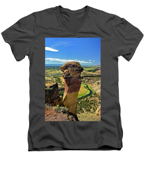 Monkey Face Men's V-Neck T-Shirt