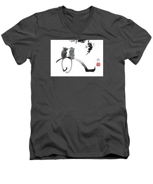 Monkeys Men's V-Neck T-Shirt